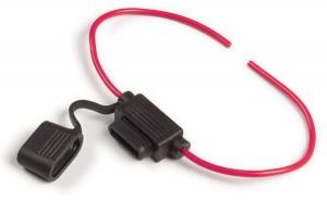 82-2208 – MINI®/ATM Fuse Holder, 14 Gauge, 20A, w/ Protective Cap