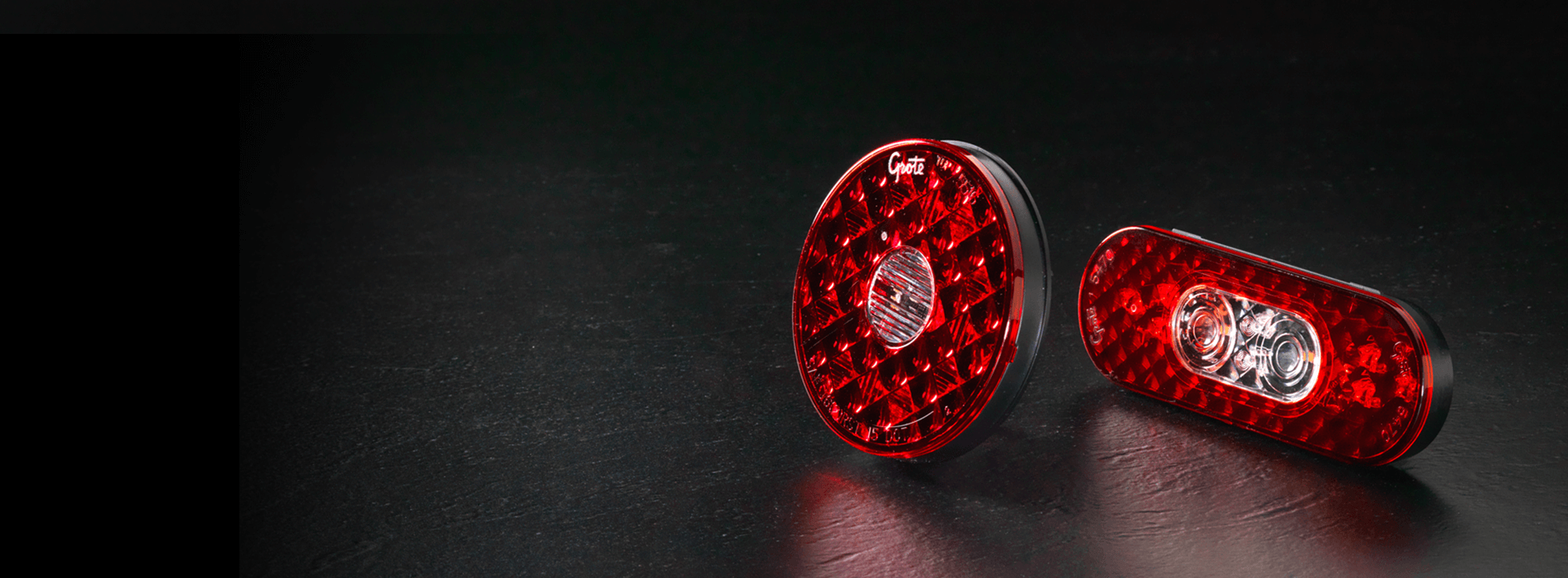 4-in-1 LED Stop Tail Turn Lights with Integrated Backup