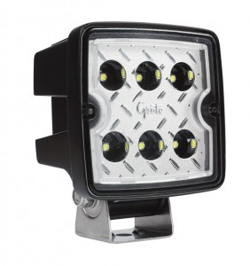 63L41 – Trilliant® Cube 2.0 LED Work Light, 2800 Lumens, Hard Shell, Wide Flood