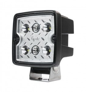 63L71 – Trilliant® Cube 2.0 LED Work Light, 2800 Lumens, Hard Shell SS, Flood