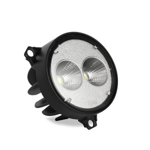 64F01 – Trilliant 26 Flush Mount LED Work Light, w/ Pigtail, 1800 Lumens, Flush Mount, Far Flood