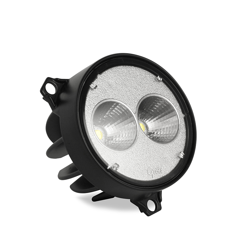 Grote Industries - 64F01 – Trilliant 26 Flush Mount LED Work Light, 1800 Lumens, Far Flood