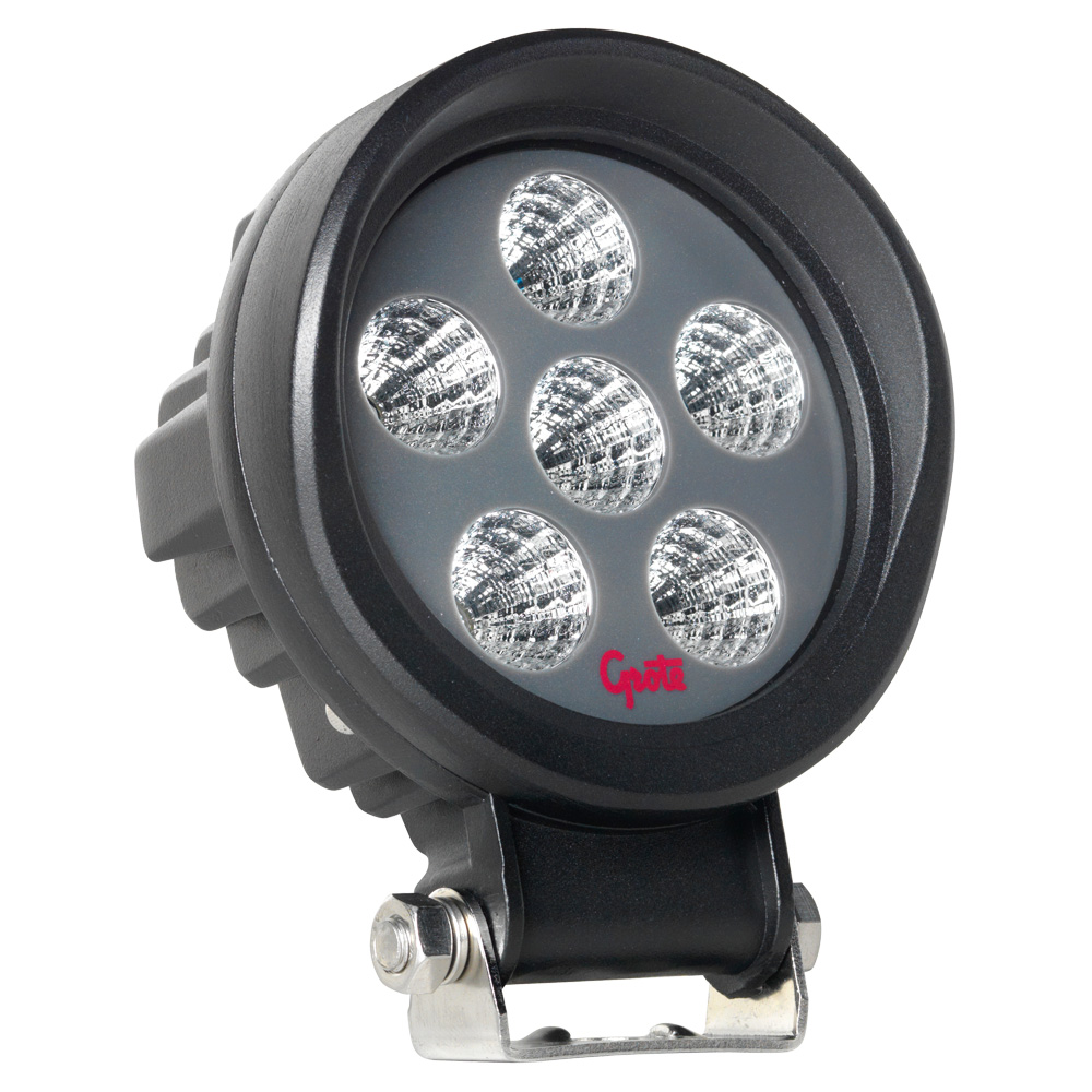BZ101-5 – BriteZone™ LED Work Light, 1600 Raw Lumens, Round, Flood