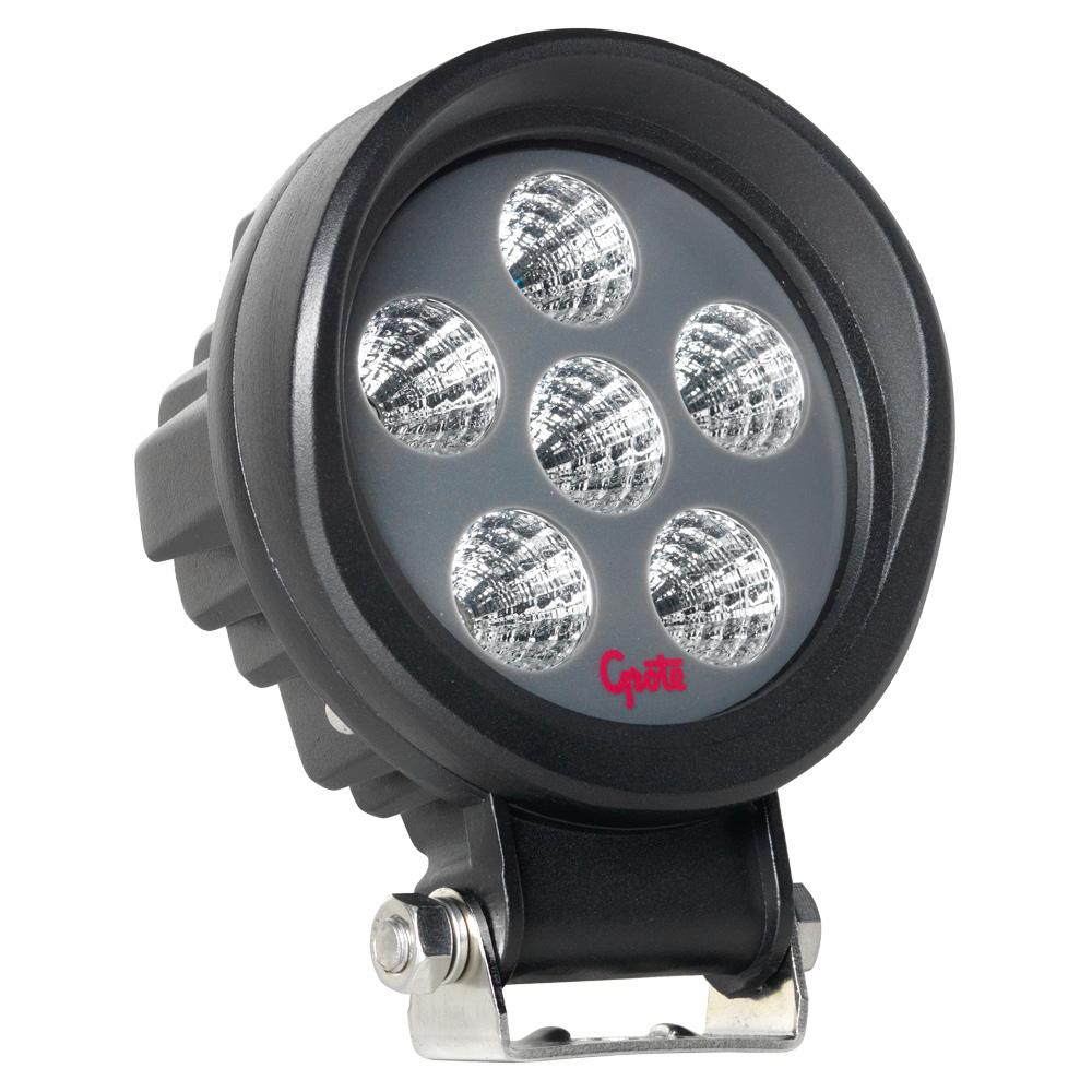 Grote Industries - BZ101-5 - Luz de trabajo LED BriteZone™, 1600 lúmenes en bruto, redondo, Flood