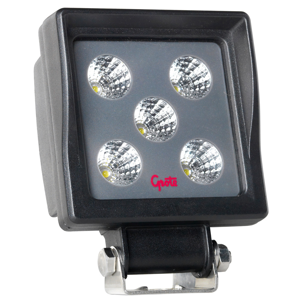 Grote Industries - BZ201-5 – BriteZone™ LED Work Light, 1100 Raw Lumens, Square, Flood