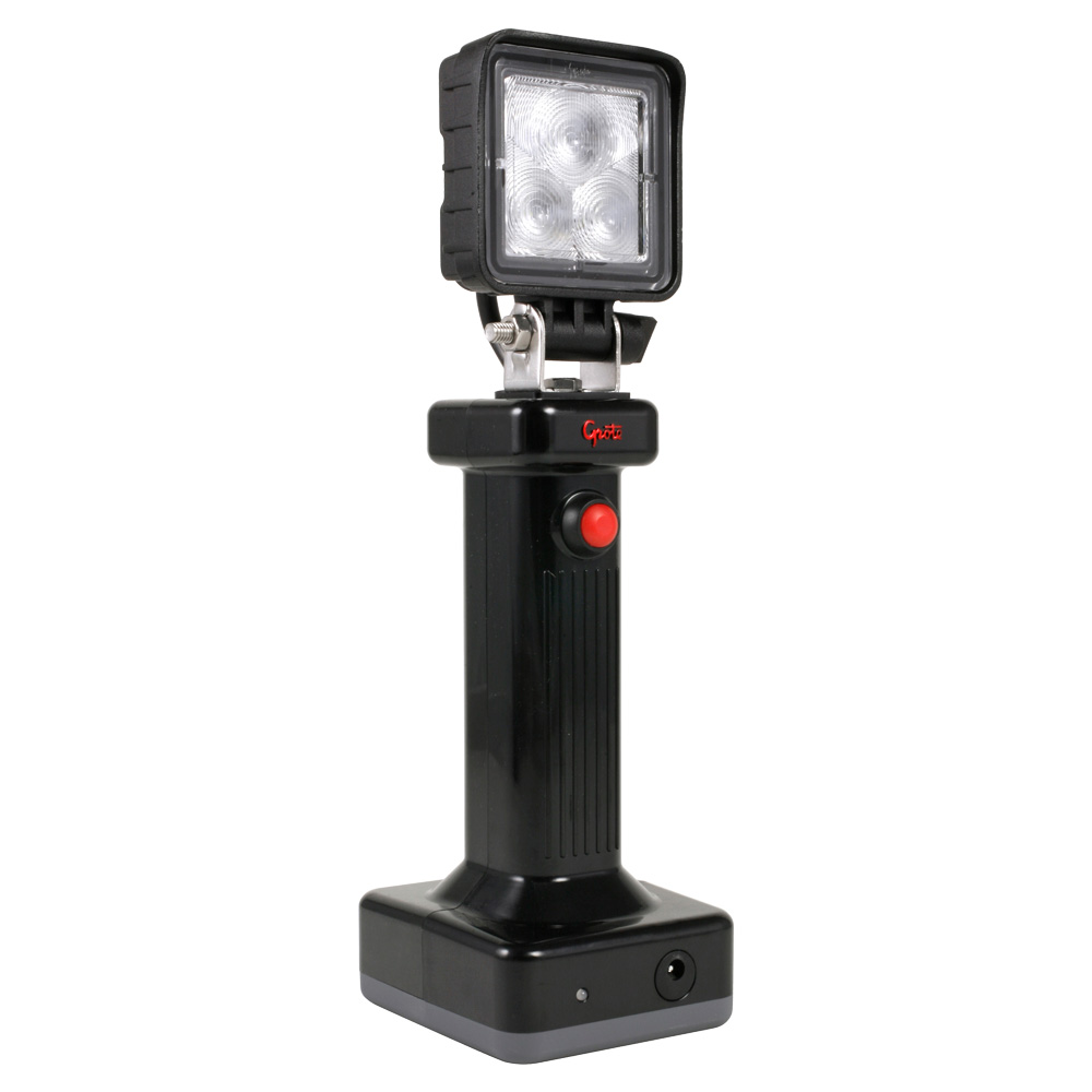 Grote Industries - BZ401-5 – BriteZone™ LED Work Light, 775 Raw Lumens, EZ Grip Hand Held, Flood