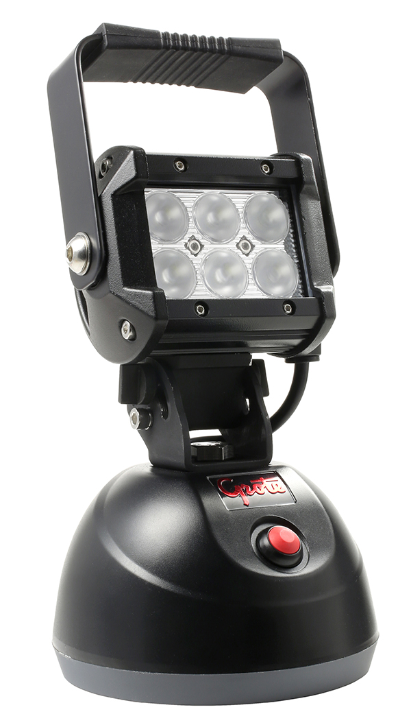 Grote Industries - BZ501-5 – BriteZone™ LED Work Light, 1100 Raw Lumens, Go Anywhere Hand Held, Flood