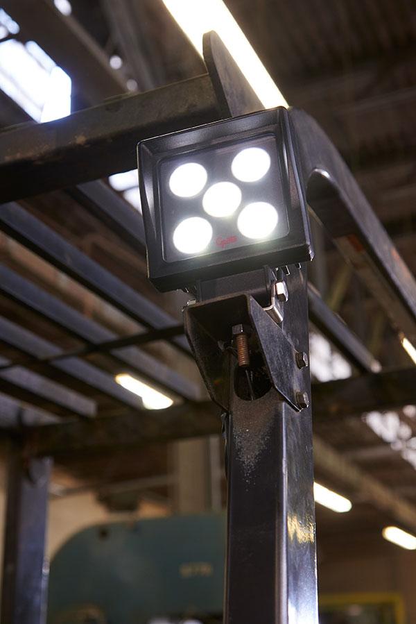 BriteZone bz201-5 LED Light on Fork Lift