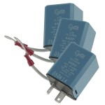 2 Pin Flasher, Variable-Load Electronic LED, Bulk Pack