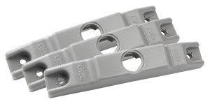 42070-3 – Surface Mount Bracket For MicroNova® Or MicroNova® Dot, Narrow Surface Mount, Gray, Bulk Pack