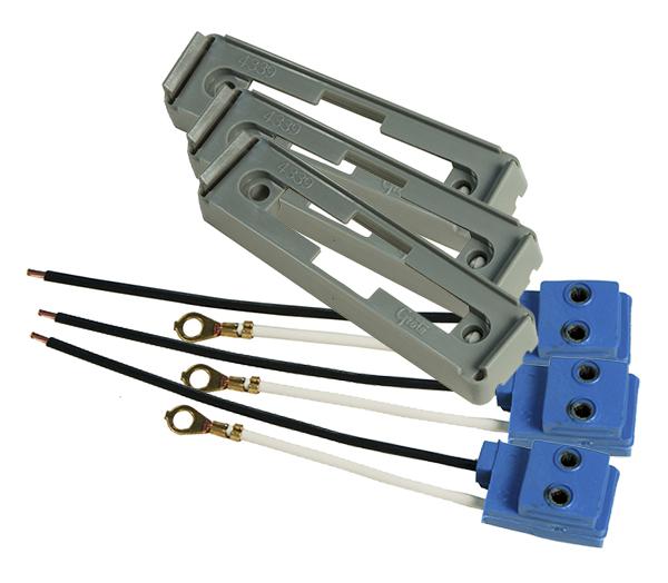 43390-3 – Mounting Bracket For Large Rectangular Lights, Gray Kit (43780 + 66981), Bulk Pack