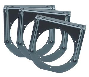 43572-3 – Mounting Bracket For 4″ Round Lights, 90° Angle, Black, Bulk Pack