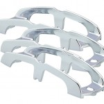Chrome Buttress-Style Light Guard, Chrome Plated, Bulk Pack