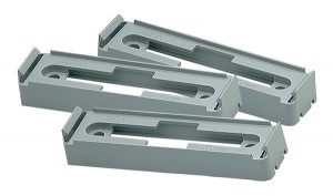 43780-3 – Mounting Bracket For Large Rectangular Lights, Gray, Bulk Pack
