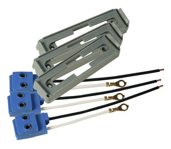 43790-3 – Mounting Bracket For Large Rectangular Lights, Gray Kit (43780 + 66980), Bulk Pack