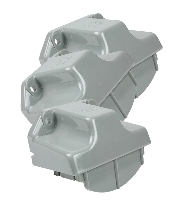 43960-3 – License Light Mounting Bracket, Gray, Bulk Pack
