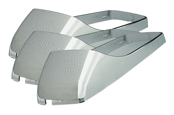 92583-3 – Small Cab Marker Bezel, Chrome, Bulk Pack