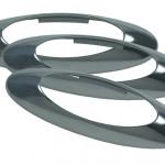 MicroNova® Light Bezel, Chrome Plated, Bulk Pack