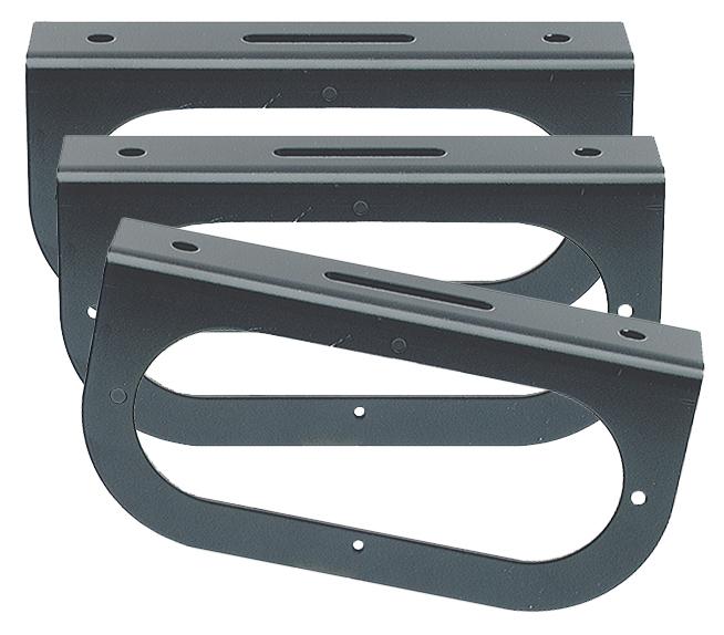 43362-3 – Mounting Bracket For 6″ Oval Lights, 90° Angle Bracket, Black, Bulk Pack