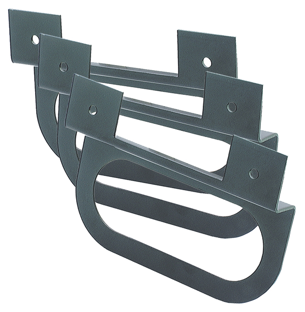 "43952-3 – ""Z"" Mounting Bracket For Oval Lights, Black, Bulk Pack"