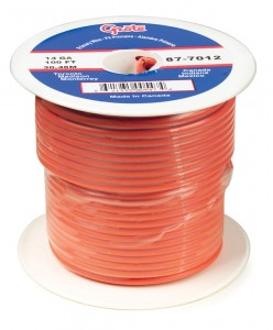 87-9012 – General Purpose Thermo Plastic Wire, Primary Wire Length 100′, 18 Gauge
