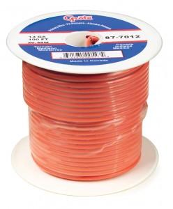 87-9012 - Cable termoplástico para uso general, cable primario de 100' de largo, calibre 18