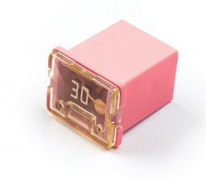 "82-FMXLP-30A – Low Profile Cartridge ""Link"" Fuse, Pink – 30 Amp"