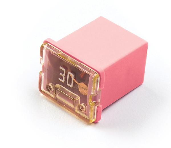 82 Fmxlp 30a Low Profile Cartridge Quot Link Quot Fuse Pink