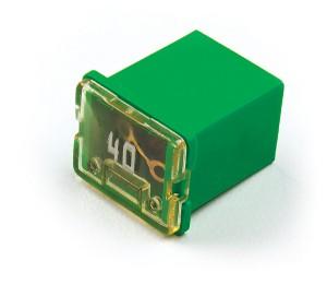 "82-FMXLP-40A – Low Profile Cartridge ""Link"" Fuse, Green – 40 Amp"