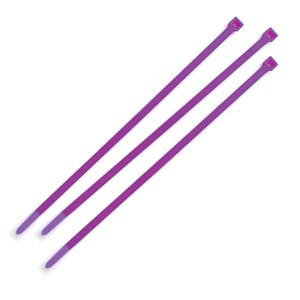 83-6035-3 – Nylon Cable Ties, 1000 Pack, Purple