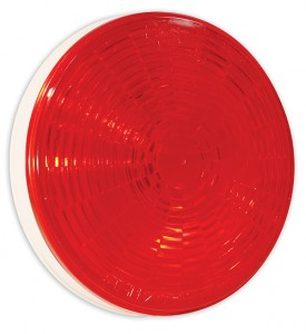 54282 – Grote Select™ 4″ LED Stop Tail Turn Light, Grommet Mount, Female Pin, Red, Multi-Volt