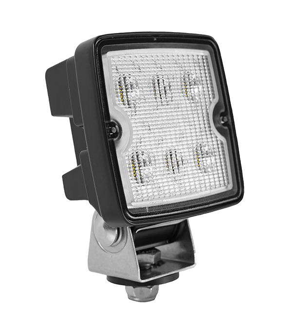 Grote Industries - 63L21 – Trilliant® Cube LED Work Light, 1200 Lumens, Deutsch, Flood
