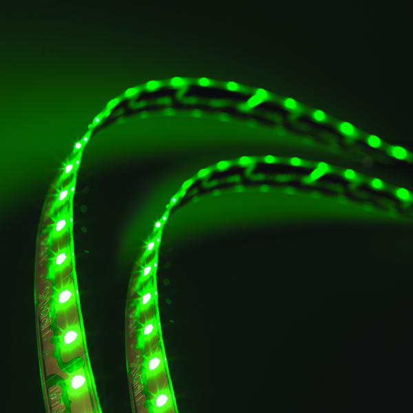 L12510804 – LightForm® Exterior LED Strip, Green, 22.67 in l 576 mm