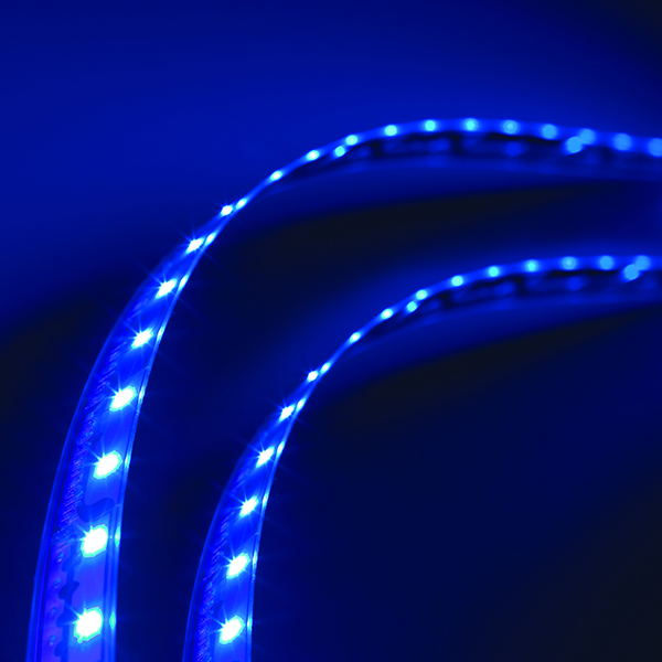 L13510805 – LightForm® Exterior LED Strips, Blue, 34.02 in | 864 mm