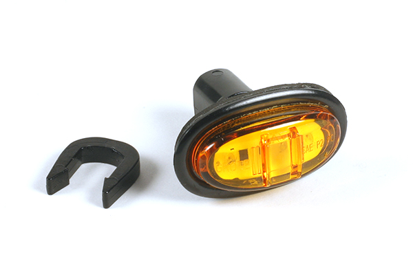 45303 – MicroNova® LED Clearance Marker Light, w/ Grommet, Hard Shell, Yellow