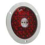 4 inch round LED Stop Tail Turn Light with Backup