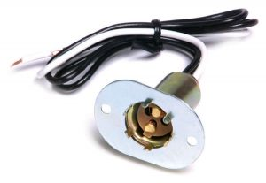 84-1000 – Socket Repair Assembly, Black/White, 2 Wire, 18 Gauge, 12″ Wire Length