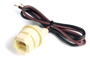 84-1031 – Socket Repair Assembly, Front & Rear Side, Ford & Chrysler, 2 Wire, 18 Gauge, 12″ Wire Length