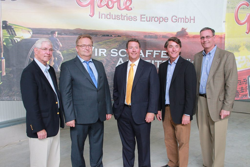 William Grote, Chairman of the Board, Grote Industries; Klaus Vetterl, Managing Director, Grote Europe; Dominic Grote, President & CEO, Grote Industries; John Grote, VP—Sales & Marketing, Grote Industries; Mike Grote, General Manager, Grote Asia
