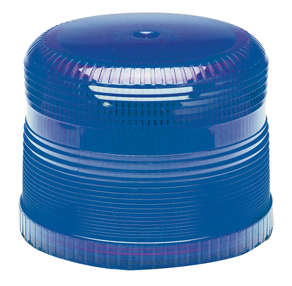 92995 – Warning & Hazard Replacement Lens, Medium Profile Class II Strobe, Blue