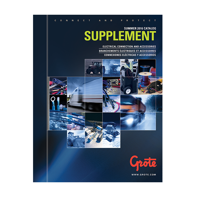 Grote Supplimental Catalog Cover