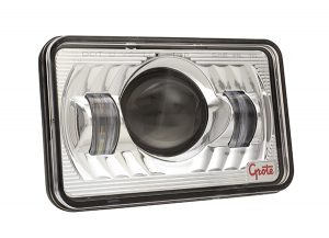 94411-5 –  4×6″ LED Sealed Beam Replacement Headlight, High Beam