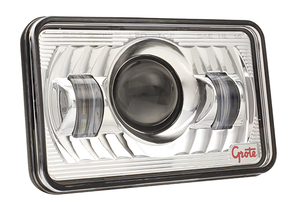 94421-5 –  4×6″ LED Sealed Beam Replacement Headlight, Low Beam