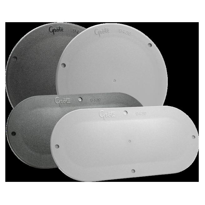 Placas de cubierta con cierre a presión Grote