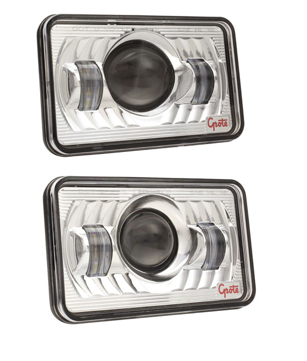 Grote 4x6 LED Headlights