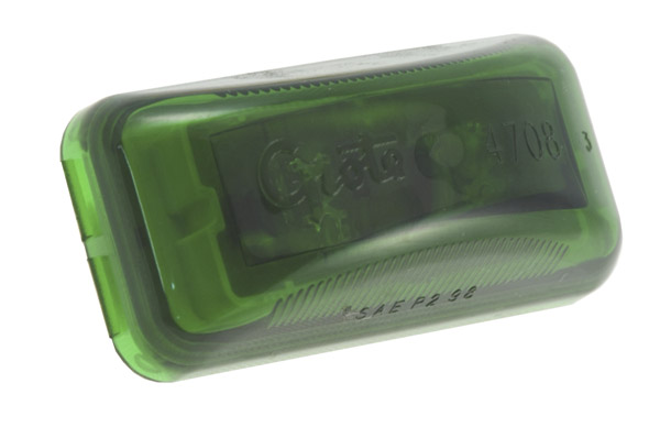 Grote Industries - 47084 – 3″ SuperNova® LED Clearance Marker Light, Green