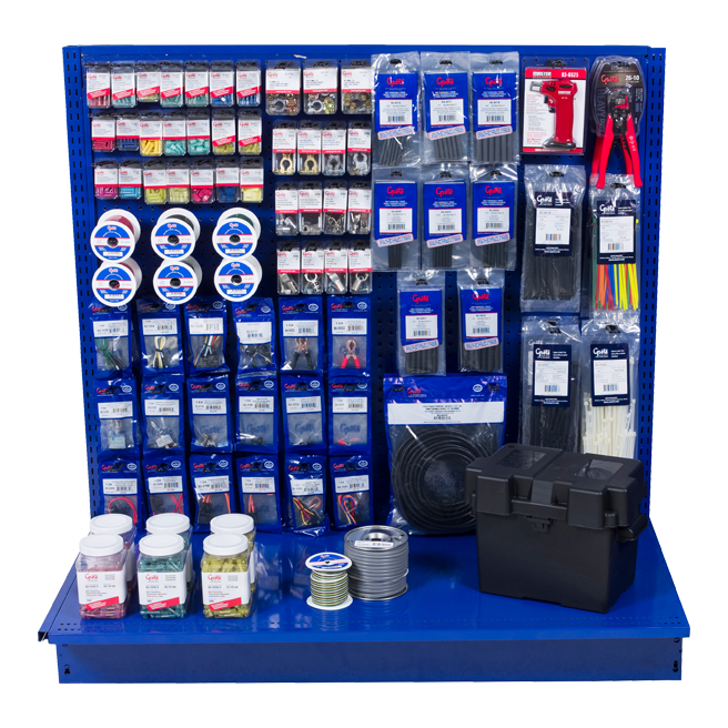 Store Display for Grote Electrical Connections and Accessories