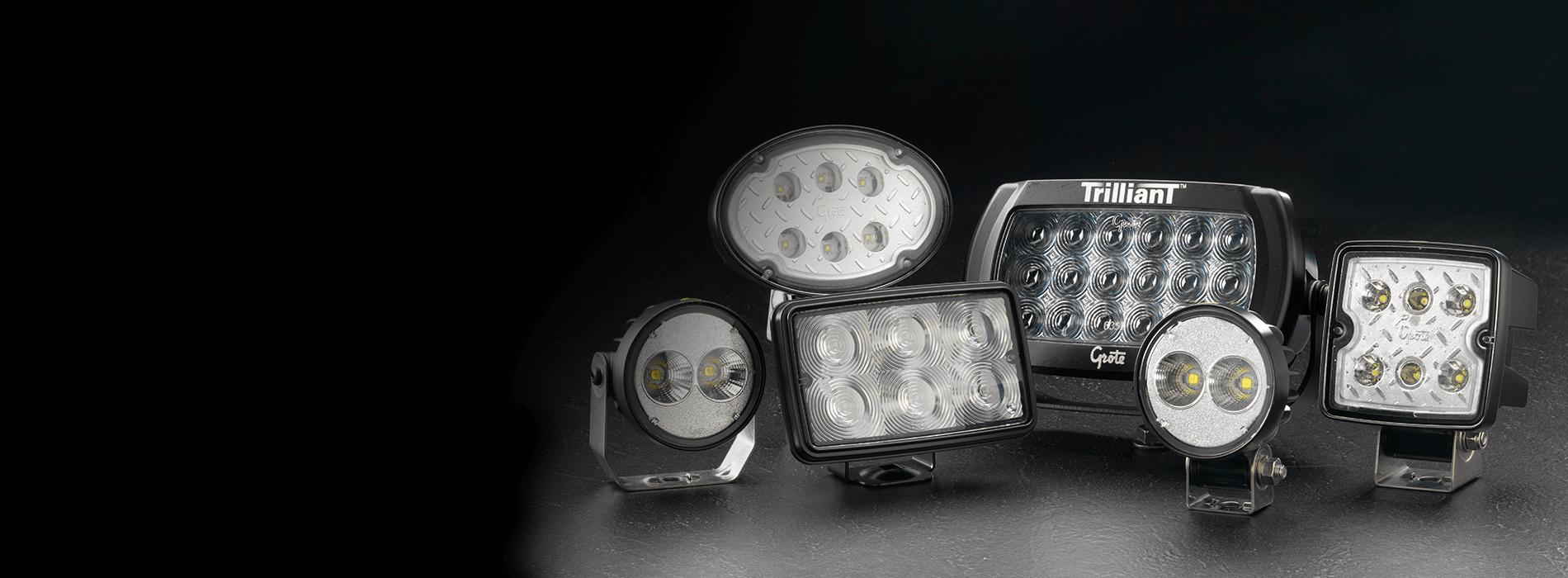 Hintergrundbild für Trilliant LED-Leuchten von Grote