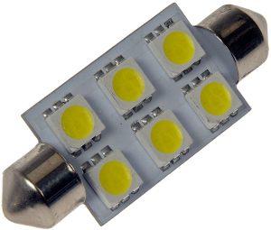 94781-5 – Replacement LED Bulb, White, Festoon Base, 1.44W
