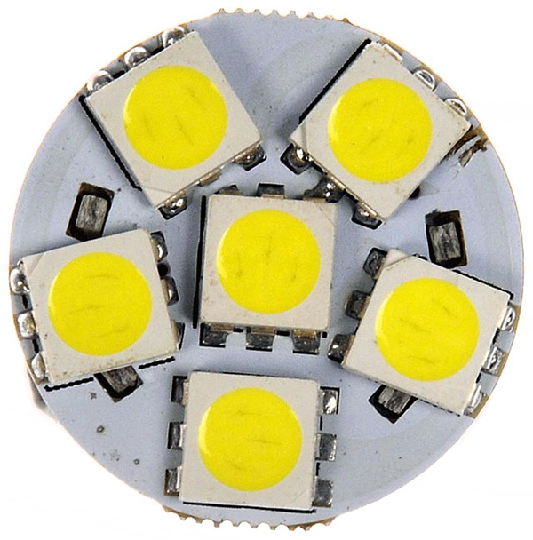 Grote Industries - 94811-4 – Replacement LED Bulb, White, Bayonet Base, 4.8W